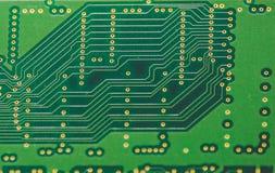 Stuk van Textolite voor computerraad stock foto