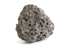 Stuk van vulkanisch extrusive stollingsgesteente Royalty-vrije Stock Afbeelding