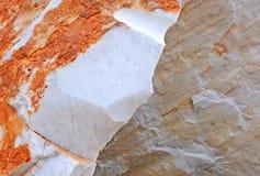 Het marmer van Carrara Stock Foto's