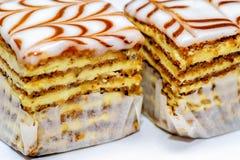 Stukken cakes Stock Foto