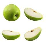 Stukken van appel royalty-vrije stock afbeelding