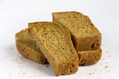 Stukken van brood Royalty-vrije Stock Foto's