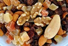Stukken van gedroogd fruit Stock Fotografie