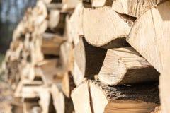 Stukken van hout Royalty-vrije Stock Foto