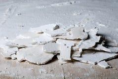 Stukken van oud pleister Royalty-vrije Stock Afbeeldingen