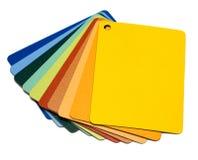 Stukken van plastiek royalty-vrije stock afbeeldingen