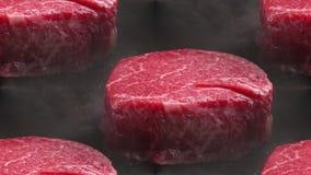 Stukken van rood vlees royalty-vrije stock fotografie