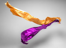 Stukken van vliegende stof Royalty-vrije Stock Foto's