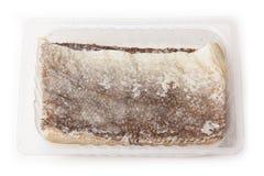 Stukken zoute kabeljauwvissen Stock Afbeelding
