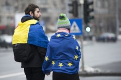 STULEN RÄTTVISA - internationell protest Royaltyfri Bild