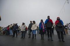 STULEN RÄTTVISA - internationell protest fotografering för bildbyråer