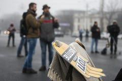 STULEN RÄTTVISA - internationell protest Arkivfoton