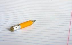 Stummel eines Bleistifts Lizenzfreie Stockbilder