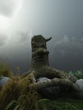 Stump with face Stock Photography
