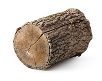 Stump isolated Royalty Free Stock Photography