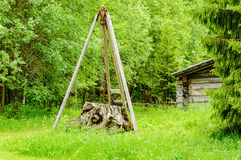 Stump lifter Stock Images