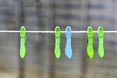 Stumpfer regnerischer Tag Stockfotos
