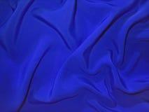 Stumpfes blaues Gewebe (Kunstseide) lizenzfreies stockbild