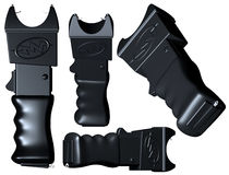 Stun gun from different angles Royalty Free Stock Photo