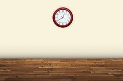 Stunden auf einer Wand Stockbilder