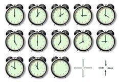 Stunden des Aufweckens stock abbildung