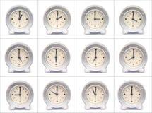 Stunden des Tages Stockbilder
