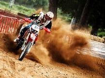 24 STUNDEN MOTOCROSS-AUSDAUER-RENNEN- Lizenzfreies Stockbild