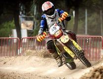 24 STUNDEN MOTOCROSS-AUSDAUER-RENNEN- Stockfotos