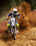 24 STUNDEN MOTOCROSS-AUSDAUER-RENNEN- Lizenzfreie Stockfotos