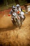 24 STUNDEN MOTOCROSS-AUSDAUER-RENNEN- Lizenzfreie Stockbilder