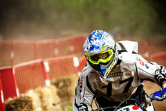 24 STUNDEN MOTOCROSS-AUSDAUER-RENNEN- Stockbild