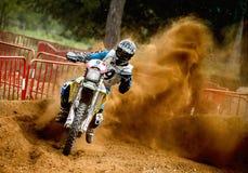 24 STUNDEN MOTOCROSS-AUSDAUER-RENNEN- Lizenzfreie Stockfotografie