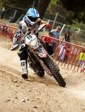 24 STUNDEN MOTOCROSS-AUSDAUER-RENNEN- Stockfoto