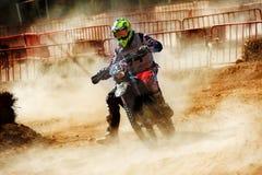 24 STUNDEN MOTOCROSS-AUSDAUER-RENNEN- Stockfotografie