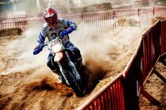 24 STUNDEN MOTOCROSS-AUSDAUER-RENNEN- Lizenzfreies Stockfoto