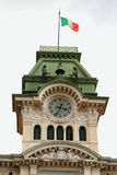 Stunden Turm Triest, Italien Lizenzfreies Stockbild