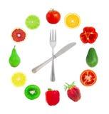 Stunden von der Frucht Stockbilder