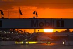 12 Stunden von Sebring Stockbild