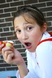 Stunned Girl Stock Photo