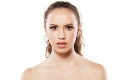 Stunned girl Royalty Free Stock Photography
