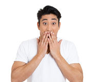 Stunned man Royalty Free Stock Image