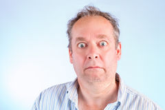 Stunned and Speechless Royalty Free Stock Photos