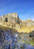 Stunning 300 million year old limestone canyon Stock Photo