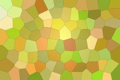 Stunning abstract illustration of green, yellow and orange bright Big hexagon. Nice background for your prints. Stunning abstract illustration of green, yellow vector illustration