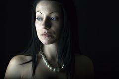 Stunning alternative brunette woman Royalty Free Stock Photography