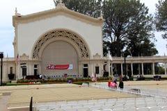 Stunning architecture seen while wandering around historic Balboa Park, San Diego, California, 2016 Stock Image