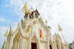 Stunning Architecture of Wat Khoi in Thailand Royalty Free Stock Image