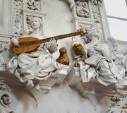 Free Stunning Baroque Stucco At Oratorio Di San Lorenzo Palermo Stock Images - 178675464