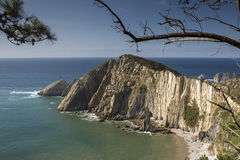 Stunning beach in asturias, spain Royalty Free Stock Images