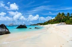 Stunning beach at Caribbean Royalty Free Stock Photography